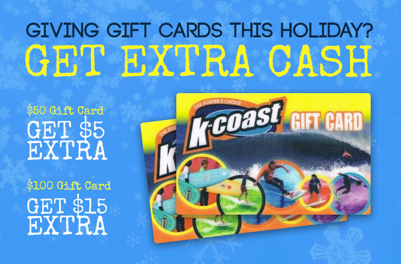 Giving Gift Cards this holiday? Get Extra Cash.