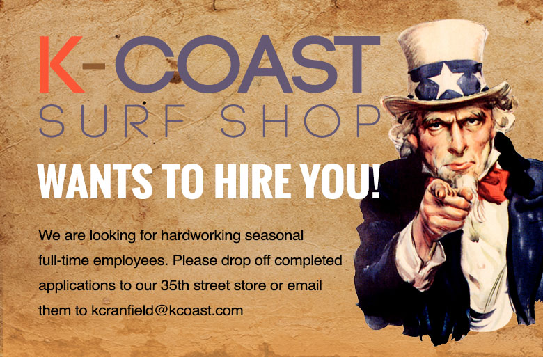 Work at K-Coast, Apply now at 35th street